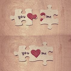 puzzle pieces: this would be cute in a game and personalized