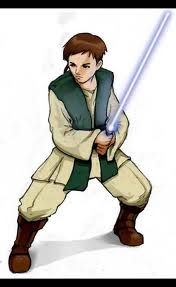 X is for Xanatos (the first padawan of Qui-Gon Jinn to go to the Dark Side)
