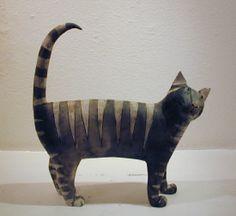 Anna Noël Standing Cat