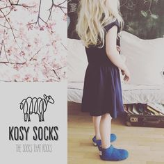 Kosy spring socks booties for kids, warm, cosy and fresh.