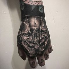 1a48209c66 15 Best Skull Hand images in 2018 | Body art tattoos, Coolest tattoo ...