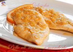 Pollo all'arancia e mandorle, ricetta sfiziosa