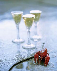 August = crayfish season