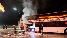 Akte Astrosuppe - glasklar!: ♦ BRAND im REISEBUS ♦ - Schüler aus ITZEHOE retten sich aus Bus! (spon)