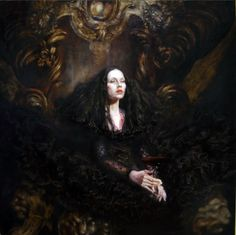 Dark Fantasy Art Product | Second, Snow White, Cinderella and other Disney stars live in a ...