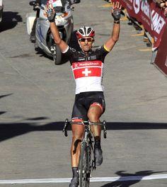Fabian Cancellara wins the 2012 Bianche Strade