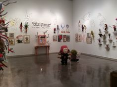 Trace Nelson's exhibition at the Esplanade