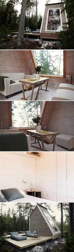 Nido: a 95 sq ft micro cabin in Finland