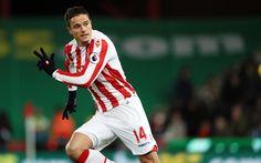 Scarica sfondi Ibrahim Afellay, 4k, Stoke City, giocatori di calcio, Premier League