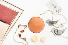 "Organic bath bomb ""Citrus Sorbet""-Aromatherapy"