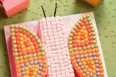 How to Make a Butterfly Cut-Out Cake