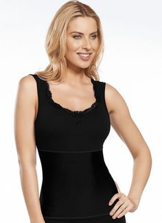 c9424a887104a Jockey Women s Shapewear Lace Shapewear Tank