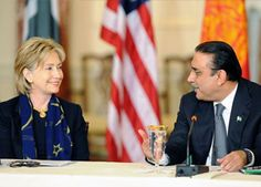 The improving trade ties between Pakistan and India, terrorism and violent anti-US protests were among a host of issues that President Asif Ali Zardari discussed with Secretary of State Hillary Clinton when they met here on the sidelines of the UN General Assembly session.