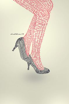 Exciting Collection of Typography Posters and Designs red tights by ahmedlahsaini – The Wondrous Design Magazine