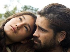 "Terrence Malick ""The New World"" - Colin Farrell as Captain Smith and Q'orianka Kilcher as Pocahontas"