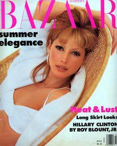 Bazaar July 1992 - Christy Turlington