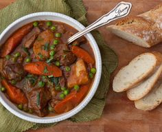 Guinesss and lamb stew.  What's not to like?  Made it for my hubby and his friends' game night.  They loved it!  Easy to make.  Will definitely make this one again.
