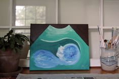 make the first photo of your baby one to remember with these ultrasound paintings! they also make really special shower gifts <3 www.ultrasounddesignsbygreta.weebly.com