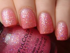 Sinful Colors Pinky Glitter. Just bought this one. I luv the sinful colors collection, and I keep adding to mine which will probably never stop ;)