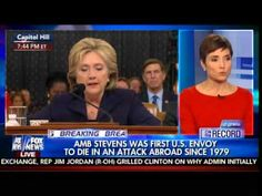 SMOKING GUN! FOX Analyst Reports on Bombshell Benghazi Evidence That Sinks Hillary Clinton  Jim Hoft Oct 22nd, 2015 7:15 pm 24 Comments  FOX News investigative journalist Catherine Herridge reported on the smoking gun evidence that sinks Hillary Clinton.  Hillary Clinton and Barack Obama knew the assault on the Benghazi Consulate was a terrorist attack immediately and was not connected to any YouTube video. They then went out and lied to the public about the attack.