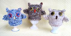 There have been some very worried little mice at Flutterby Patch this week. It all started when little mouse Pip came across three wise owl. Easter Crochet Patterns, Owl Patterns, Knitting Patterns Free, Free Knitting, Free Crochet, Free Pattern, Knit Crochet, Crochet Owls, Owl Crafts
