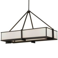 Stelle Linear Suspension by Feiss