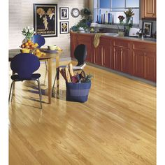 Shop Bruce America's Best Choice 2.25-in W Prefinished Oak Hardwood Flooring (Natural) at Lowes.com