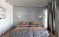 Estonian Concrete Home from Avotakka for Heiki Suve - concrete walls, wood floors