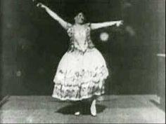 CARMENCITA (Carmen Dauset)- en el primer filme censurado de la historia. (1894) Nacida en Almería BAILAORES/AS - El Arte de Vivir el Flamenco
