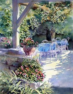 Sunny Terrace、Ann Mortimer