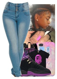 """"""""""" by jawnnsowavyy2 on Polyvore featuring JanSport and NIKE"""