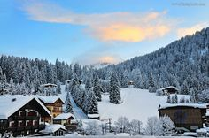 So beautiful, cold, but just awesome!  Madonna di Campiglio, Trentino Alto Adige, Italy (via Il Meteo)