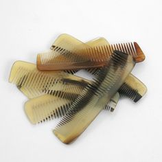 Horn combs from roost.