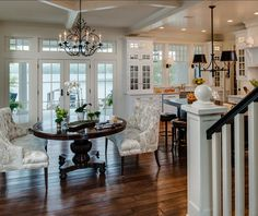 Kitchen Interior Design Remodeling Coastal Home with Traditional Interiors - Home Bunch - An Interior Design House, Interior, Traditional House, Home, Interior Design Kitchen, Luxury Interior Design, Traditional Interior Design, Home Interior Design, Interior Design