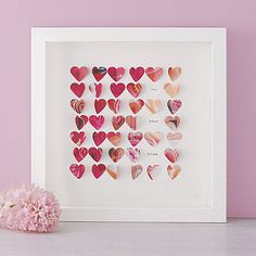Little Hearts Framed Picture