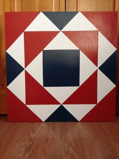 2 X 2 Barn Quilt in rural Thorntown, IN