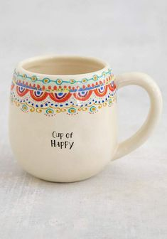 Pottery Mugs, Ceramic Pottery, Painted Pottery, Pottery Gifts, Ceramic Painting, Diy Painting, Painting On Mugs, Ceramic Cafe, Keramik Design