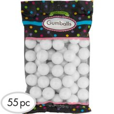 Pearl White Gumballs...