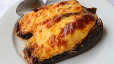 Papoutsakia | Papoutsakia or stuffed eggplants translates to little shoes in Greek. It is one of the many ladera (la-the-ra) dishes, cooked with lots of good olive oil and served as a main course.