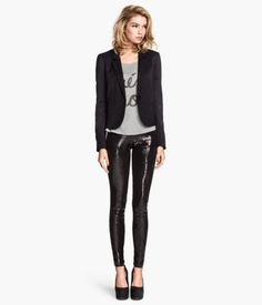 H&M Sequined Leggings $24.95