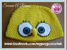 SpongeBob Crochet Hat   https://www.etsy.com/your/shops/MyMagicCrochetUS