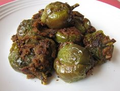 green brinjal curry - Google Search
