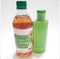 Apple Cider Vinegar as a face skin toner recipe