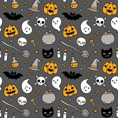 Halloween doodle by Sudowoodo @ depositphotos #patterndesign