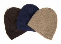 GRETA GARBO THREE WOOL WINTER HATS - Current price: $75