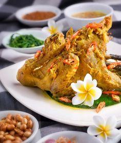 Balinese chicken betutu