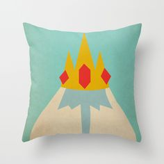 I wouldn't mind an Adventure time pillow ill have to look around