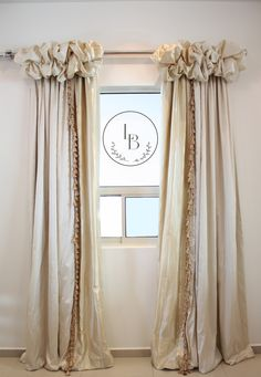 Success Gallery Studio - Lets Talk About Home & Pest Luxury Curtains, Drapes Curtains, Valances, Drapery, Living Room Decor Curtains, Bedroom Decor, Cortinas Shabby Chic, Rideaux Design, Farmhouse Curtains