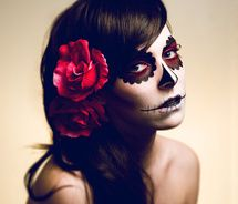 Day of the Dead - great makeup for halloween