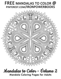 free printable mandala coloring pages for adults mandalas are great form of art therapy